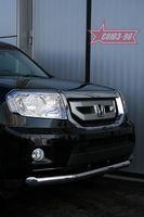 Защита переднего бампера d76 для Honda Pilot (2008 -) HPIL.48.0717