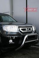 Решётка передняя мини d76 низкая для Honda Pilot (2008 -) HPIL.56.0716