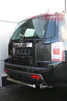 """Защита заднего бампера d76  """"короткая"""" для Honda Pilot (2008 -) HPIL.75.0722"""