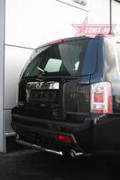 """Защита заднего бампера d60  """"короткая"""" для Honda Pilot (2008 -) HPIL.75.0723"""
