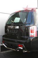"""Защита заднего бампера d60  """"волна"""" для Honda Pilot (2008 -) HPIL.75.0724"""
