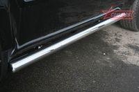 """Пороги """"труба"""" d76 для Honda Pilot (2008 -) HPIL.80.0720"""