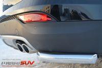 Защита заднего бампера уголки d63 для Hyundai Santa Fe (2012 -) HSFZ-001228