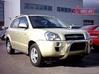 Решётка передняя мини d76 для Hyundai Tucson (2005 -) HTUC.55.0081