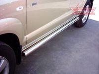 "Пороги ""труба"" d76 для Hyundai Tucson (2005 -) HTUC.80.0082"
