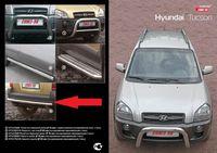 Пороги с листом d60 для Hyundai Tucson (2005 -) HTUC.82.0236
