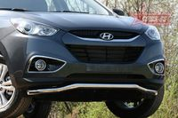 Защита переднего бампера d60 волна для Hyundai IX35 (2010 -) HYIX.48.1058