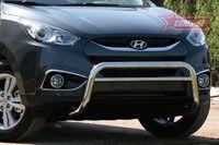 Решетка передняя мини d60 низкая с перемычкой для Hyundai IX35 (2010 -) HYIX.56.1056
