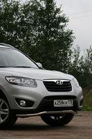 "Защита переднего бампера d60 ""труба"" для Hyundai Santa Fe (2010 -) HYSF.48.1144"