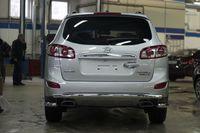 Защита задняя d60 для Hyundai Santa Fe 201(1-2012) HYSF.75.1433