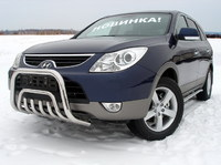 Защита передняя (кенгурин) 60,3/42,4мм  для Hyundai IX55 (2009 -) HYUNIX55-01