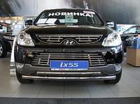 Защита передняя нижняя 60,3/42,4мм для Hyundai IX55 (2009 -) HYUNIX55-02