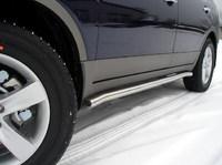 Пороги труба 60,3мм для Hyundai IX55 (2009 -) HYUNIX55-03