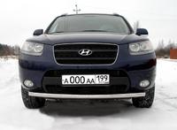 Защита передняя нижняя 60,3мм для Hyundai Santa Fe (2006 -) HYUNSF-08