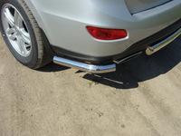 Защита задняя (уголки) 60,3 мм для Hyundai Santa Fe (2010 -) HYUNSF10-06
