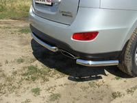 Защита задняя (центральная) 60,3 мм для Hyundai Santa Fe (2010 -) HYUNSF10-07