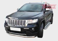 """Защита переднего бампера """"труба"""" d76 для Jeep Grand Cherokee (2011 -) JEEP.48.1362"""