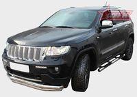 """Защита переднего бампера """"труба"""" d76/60 снизу для Jeep Grand Cherokee (2011 -) JEEP.48.1363"""