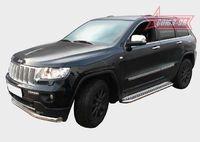 Пороги с листом d60 для Jeep Grand Cherokee (2011 -) JEEP.82.1365