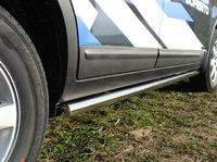 Пороги труба 60,3мм для Kia Sorento (2009 -) KIASOR09-02
