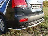 Защита задняя (уголки) 60,3мм для Kia Sorento (2009 -) KIASOR09-06