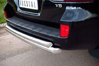 Защита заднего бампера d76/63 (дуга) для  Toyota Land Cruiser 200 (2012 -) LCZ-000204-2012