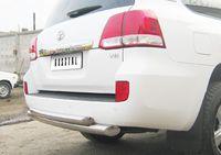 Защита заднего бампера d76/63 (дуга) для  Toyota Land Cruiser 200 (2007 -) LCZ-000204