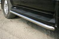 Защита штатного порога d60 для Lexus GX 470 (2003 -) LEXG.86.0076