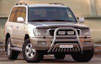 Решетка передняя мини d76 (76) для Lexus LX 470 (1998 -) LEXL.55.0088