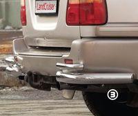 "Защита задняя ""уголки"" для Lexus LX 470 (1998 -) LEXL.76.0092"