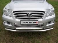 Решётка радиатора 16 мм для Lexus LX 570 (2007 -) LEXLX570-04