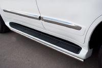 Пороги труба d42 для Lexus LX570 (2012 -) LLXT-000866