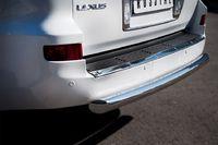 Защита заднего бампера d76 (дуга) для Lexus LX570 (2012 -) LLXZ-000867