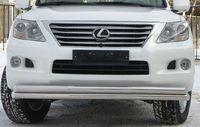 Защита переднего бампера d70/70 (секции) для Lexus L(X570 -) LLZ-000265