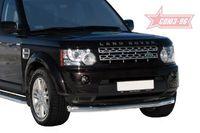 "Защита переднего бампера d76 ""труба"" для Land Rover Discovery 4 (2010 -) LRDV.48.1243"