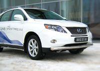 Защита переднего бампера d76 (дуга) для Lexus RX350(270,450) (2009 -) LRXZ-000400
