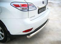 Защита заднего бампера d76 (дуга) для Lexus RX350(270,450) (2009 -) LRXZ-000407