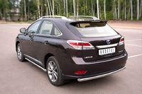 Защита заднего бампера d63 (дуга) для Lexus RX350(270,450) (2012 -) LRXZ-000409-2012