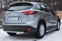 Защита заднего бампера d42 (дуга) для Mazda CX5 (2011 -) M5Z-001139