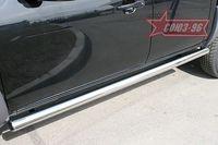 """Пороги """"труба"""" d76 для Mazda BT-50 (2007 -) MABT.80.0467"""