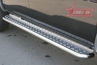Пороги с листом d60 для Mazda BT-50 (2007 -) MABT.82.0468