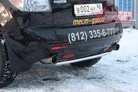 Защита задняя d42 для Mazda CX-7 (2007 -) MACX.75.0552