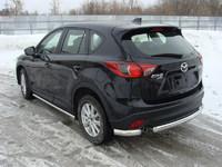 Защита задняя (уголки) 75х42 мм для Mazda CX-5 (2012 -) MAZCX512-07
