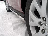 Пороги труба 60,3мм для Mazda CX-7 (2007 -) MAZCX7-102