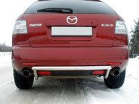 Защита задняя (центральная) 50,8мм для Mazda CX-7 (2007 -) MAZCX7-105