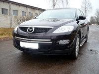 Защита передняя (центральная) 42,4мм для Mazda CX-9 (2008 -) MAZCX9-101