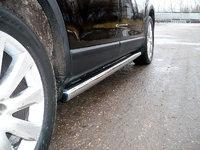 Пороги труба 76,1мм для Mazda CX-9 (2008 -) MAZCX9-105