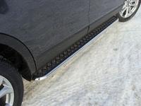 Пороги с площадкой 42,4 мм для Mazda CX-9 (2013 -) MAZCX913-02