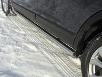 Пороги труба 76,1 мм для Mazda CX-9 (2013 -) MAZCX913-04