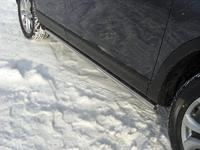 Пороги труба 60,3 мм для Mazda CX-9 (2013 -) MAZCX913-05